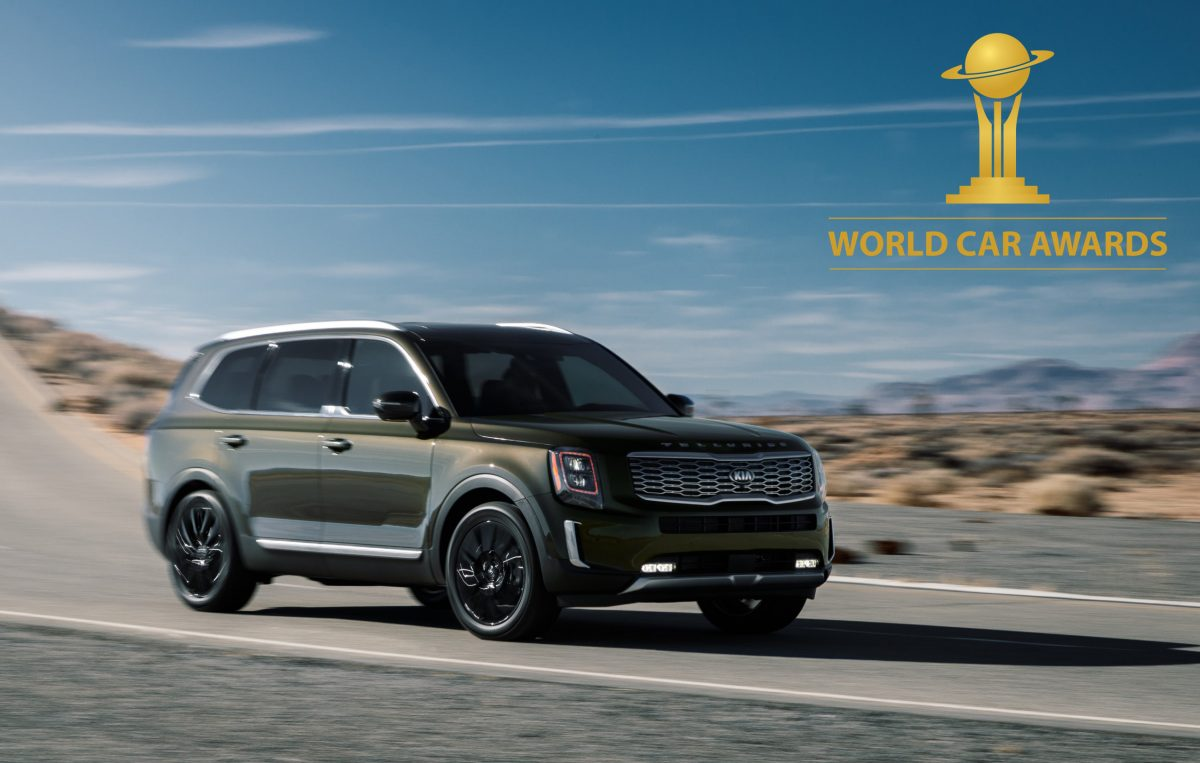 Los modelos Soul EV y Telluride de Kia ganan los 2020 World Car Awards