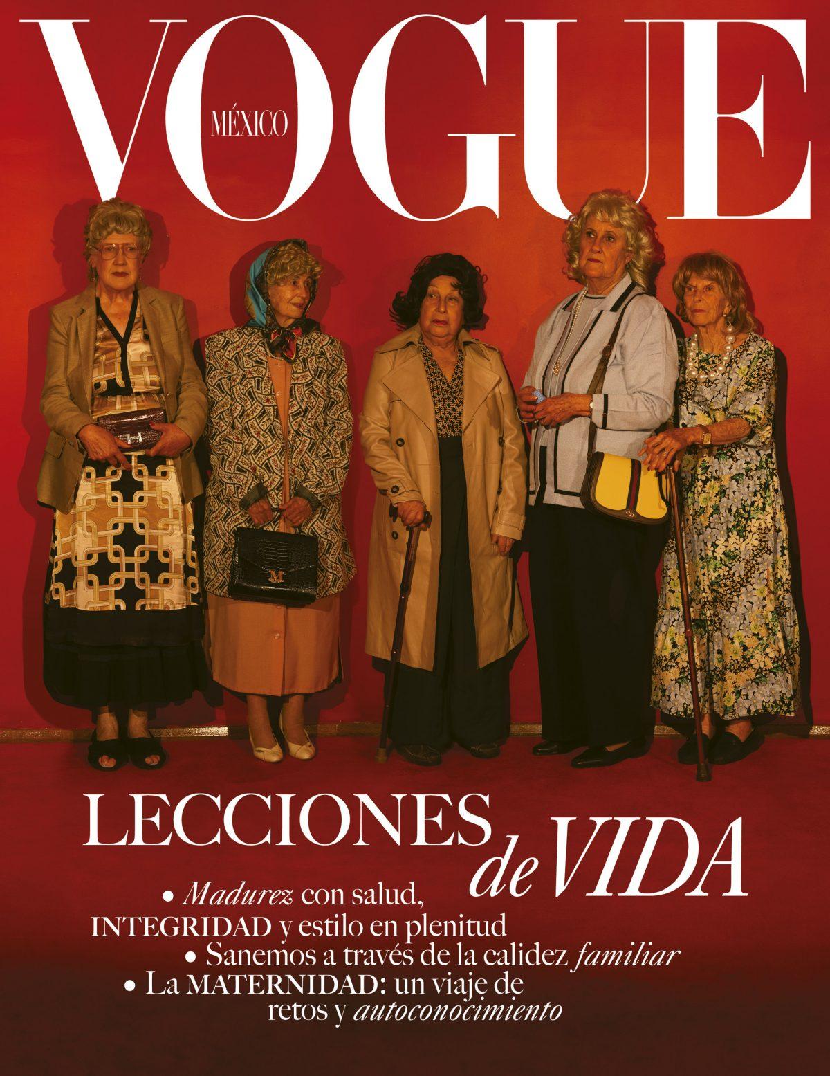 Este mes de la madre, Vogue México presenta en portada un homenaje a la figura maternal mexicana: La abuelita