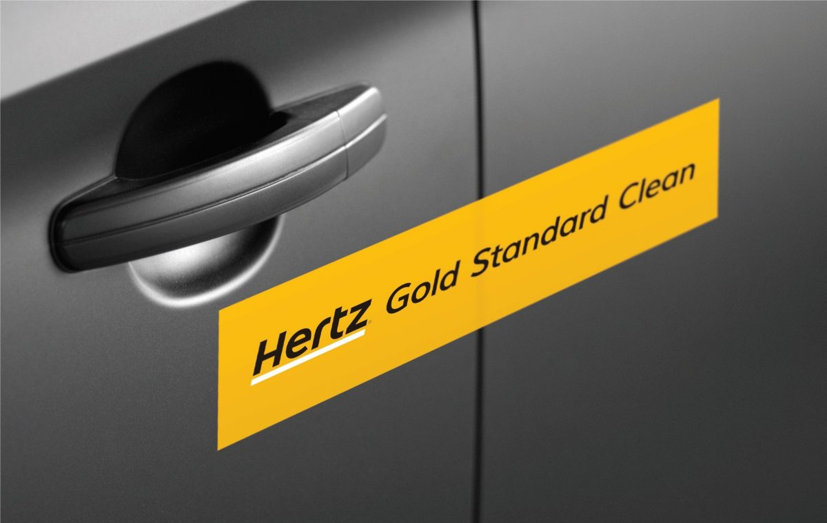 Hertz Introduces Hertz Gold Standard Clean Sealed and Certified Vehicles