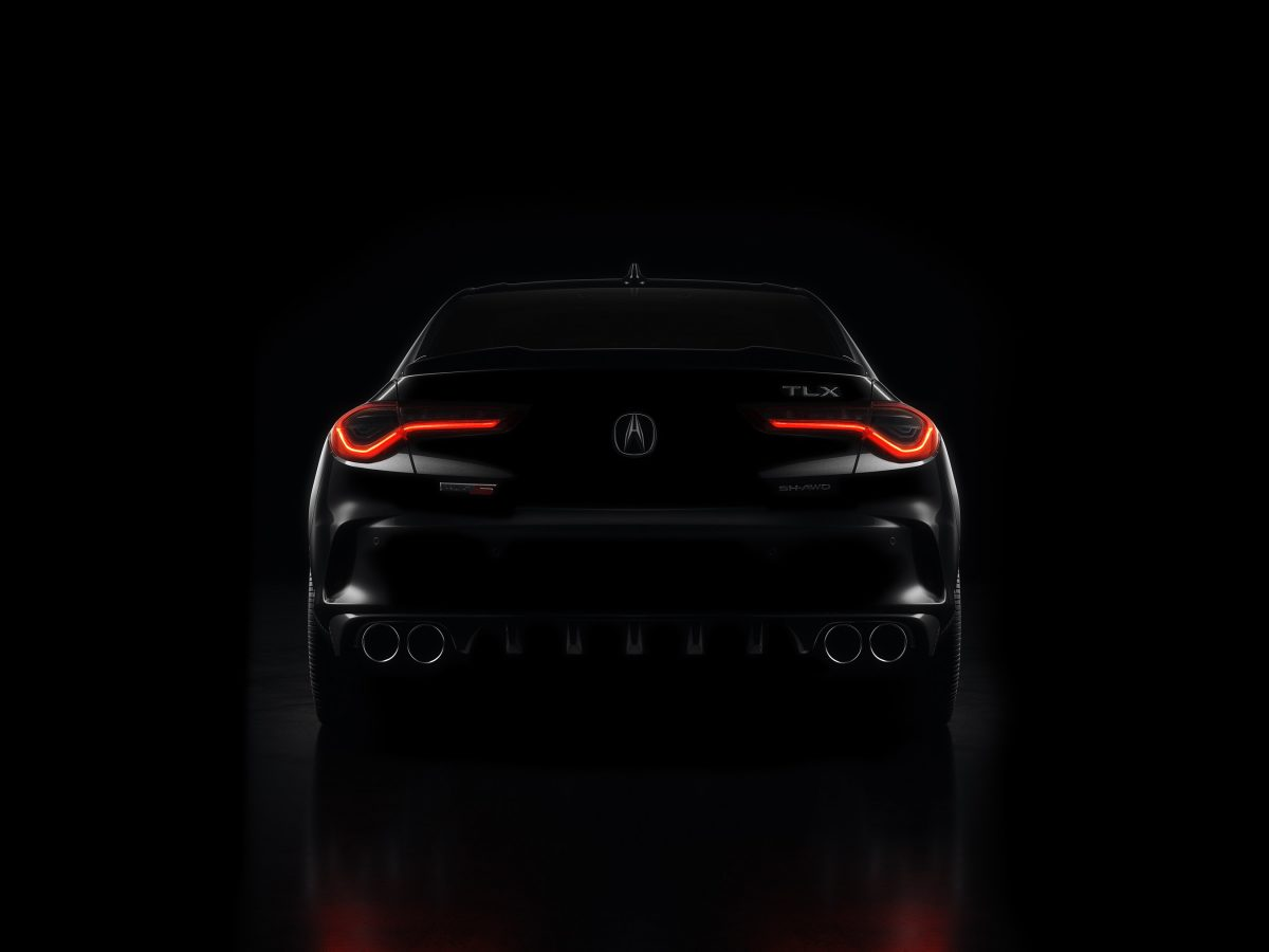 Next Generation Acura TLX Set for Digital Debut on May 28