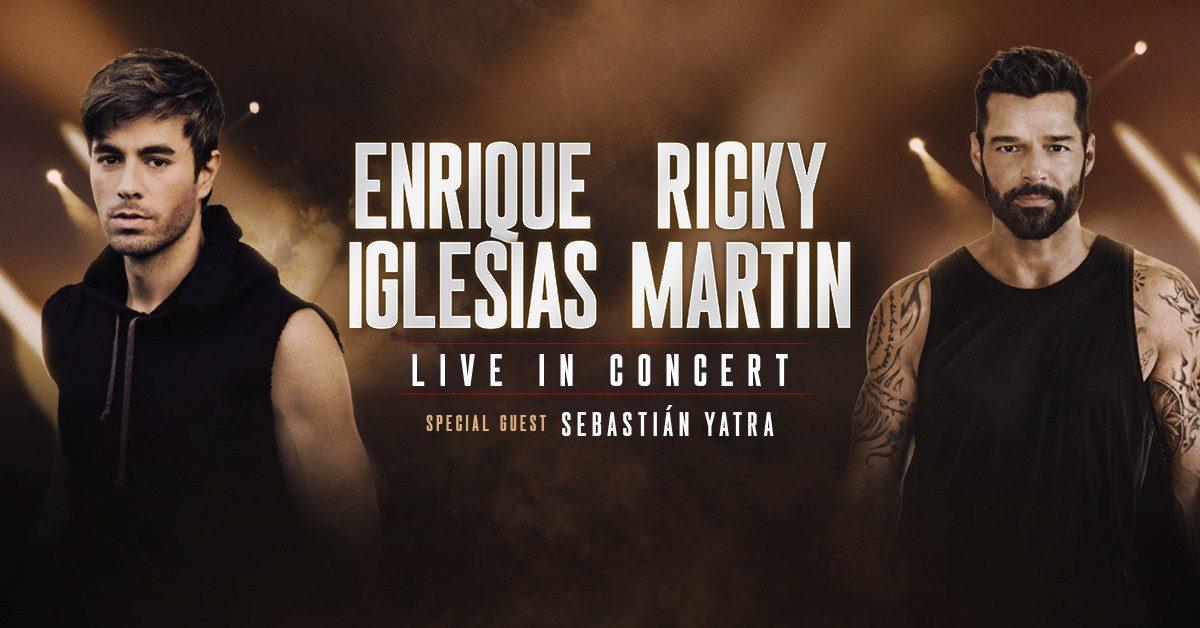 Las superestrellas globales Enrique Iglesias y Ricky Martin anuncian su primer tour co-estelar en Norteamérica