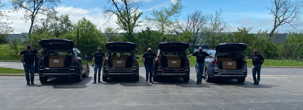 Kia Motors' «Telluriders» Continue Delivering Face Shields To Hospitals And Medical Facilities Nationwide