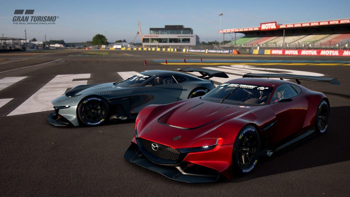 Mazda estrena auto de carrera virtual, el RX-Vision GT3 Concept, para juegos en línea