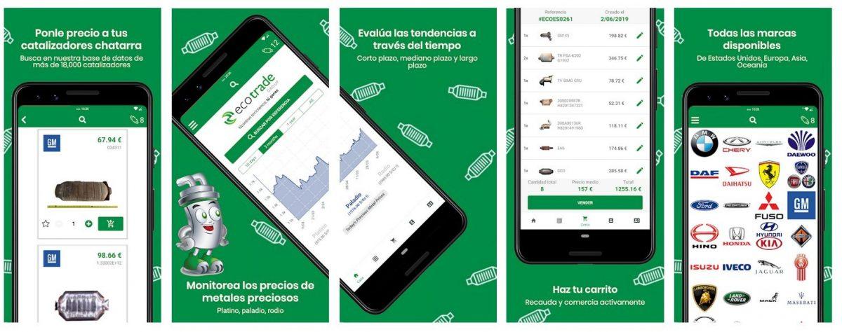 Ecotrade Group destaca su herramienta de libro de precios digital para catalizadores automotrices – 'Eco Cat App' aplica tecnología del siglo 21 al mercado global de reciclado de catalizadores automotrices de automotores