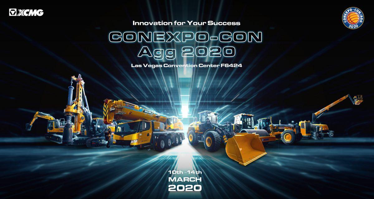 XCMG trae su mayor muestra a la CONEXPO-CON/AGG 2020