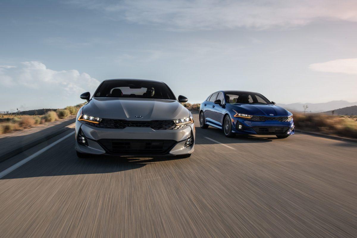 El nuevo K5 2021 de Kia listo para interrumpir e inspirar el mercado de sedan de tamaño medio