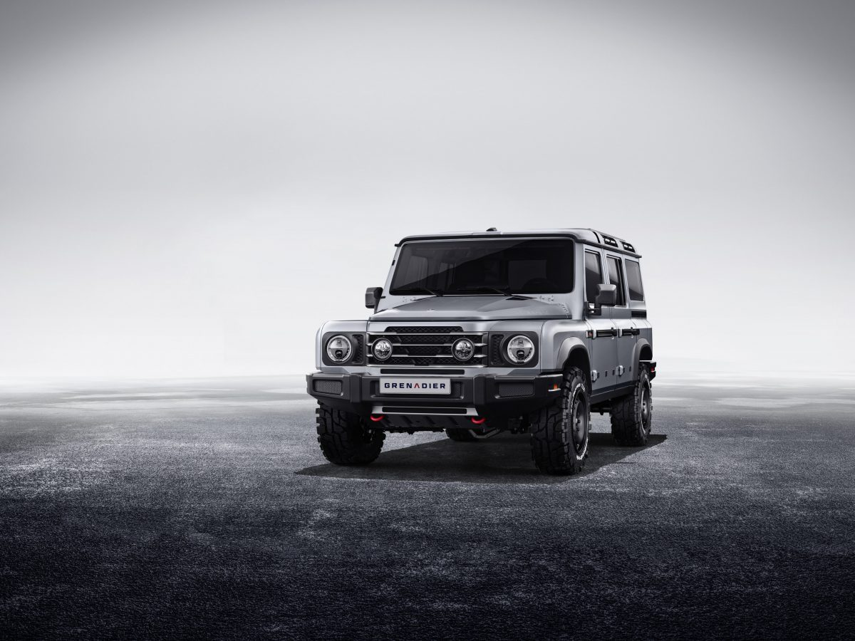 INEOS Automotive Reveals the Design of Its Upcoming 4×4, the Grenadier