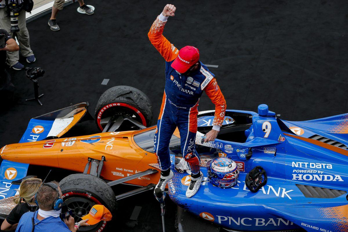 Dixon, Rahal Head Honda 1-2 at GMR Grand Prix in Indianapolis
