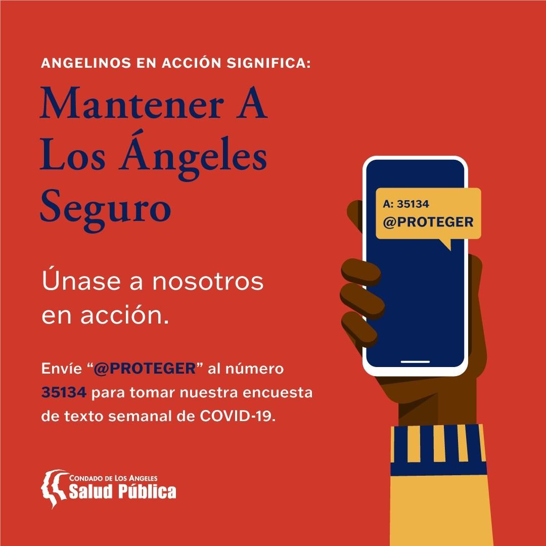 El Departamento de Salud Pública del Condado de Los Ángeles lanza «Angelinos en Acción»: una invitación al público a unirse al Camino hacia la Recuperación del COVID-19