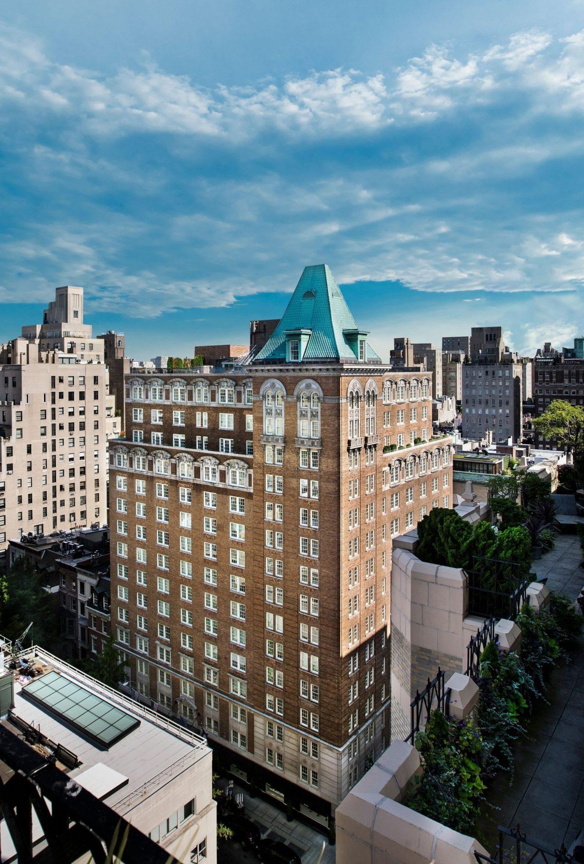 The Mark Hotel se clasifica como «#1 City Hotel in the US» y «#1 Hotel in New York City»