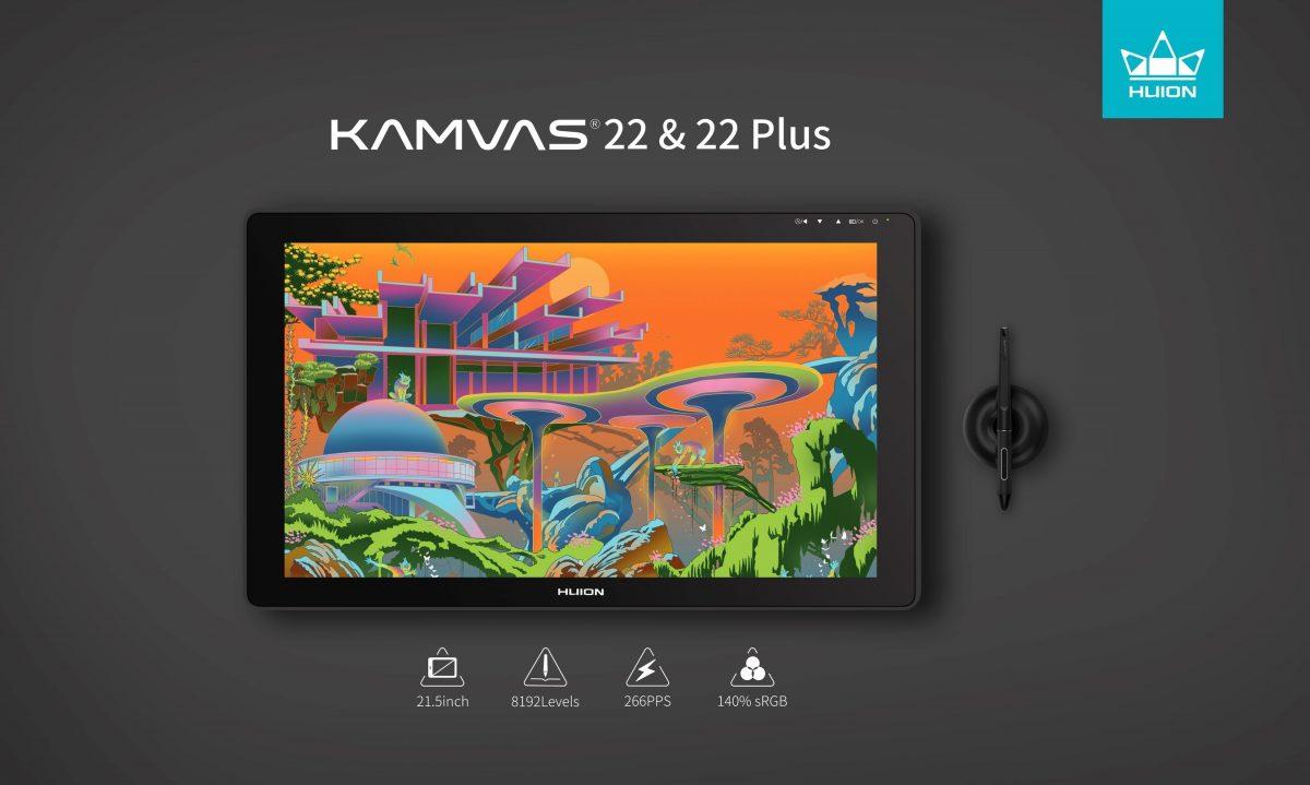 Huion presenta Kamvas 22 y Kamvas 22 Plus para empoderar a artistas de todo el mundo