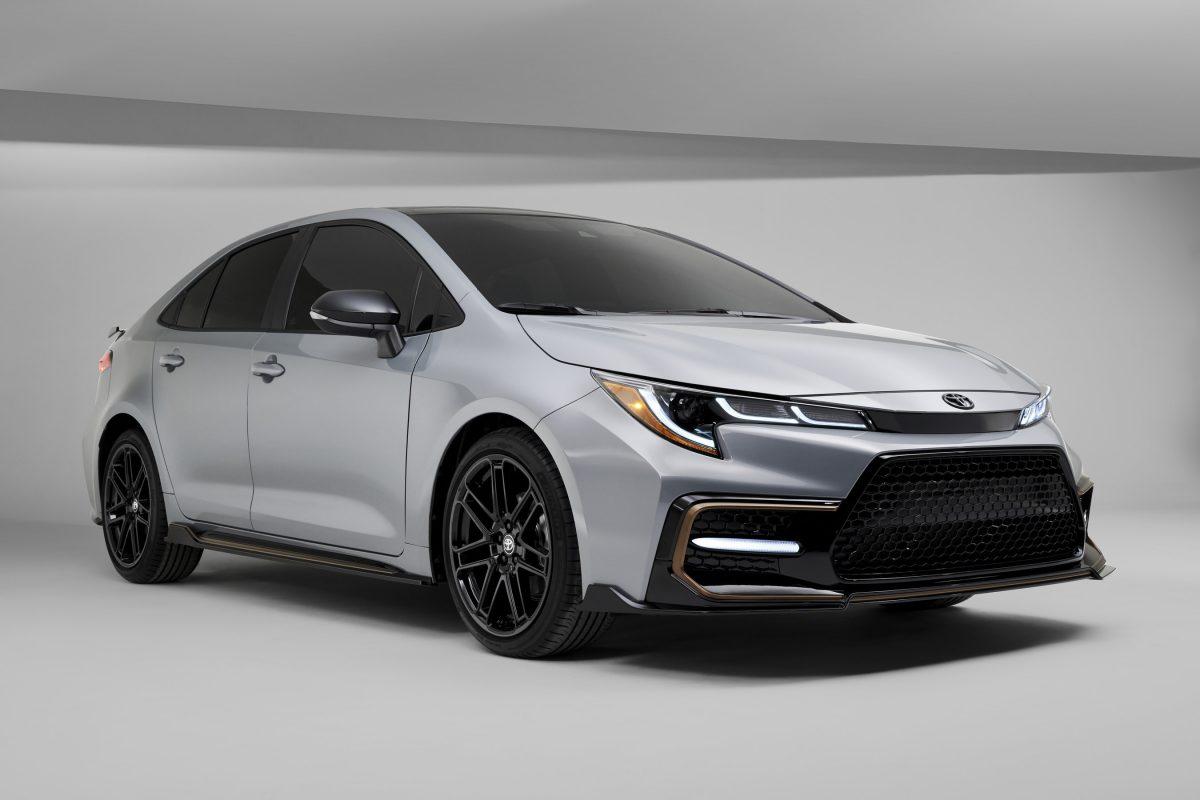 El Toyota Corolla Apex Edition 2021 apunta a las curvas con estilo atrevido