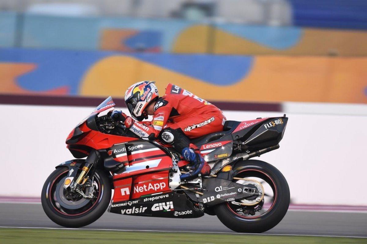 Esaote «sale a la pista» junto al Ducati Team en el regreso del primer Gran Premio de MotoGP 2020