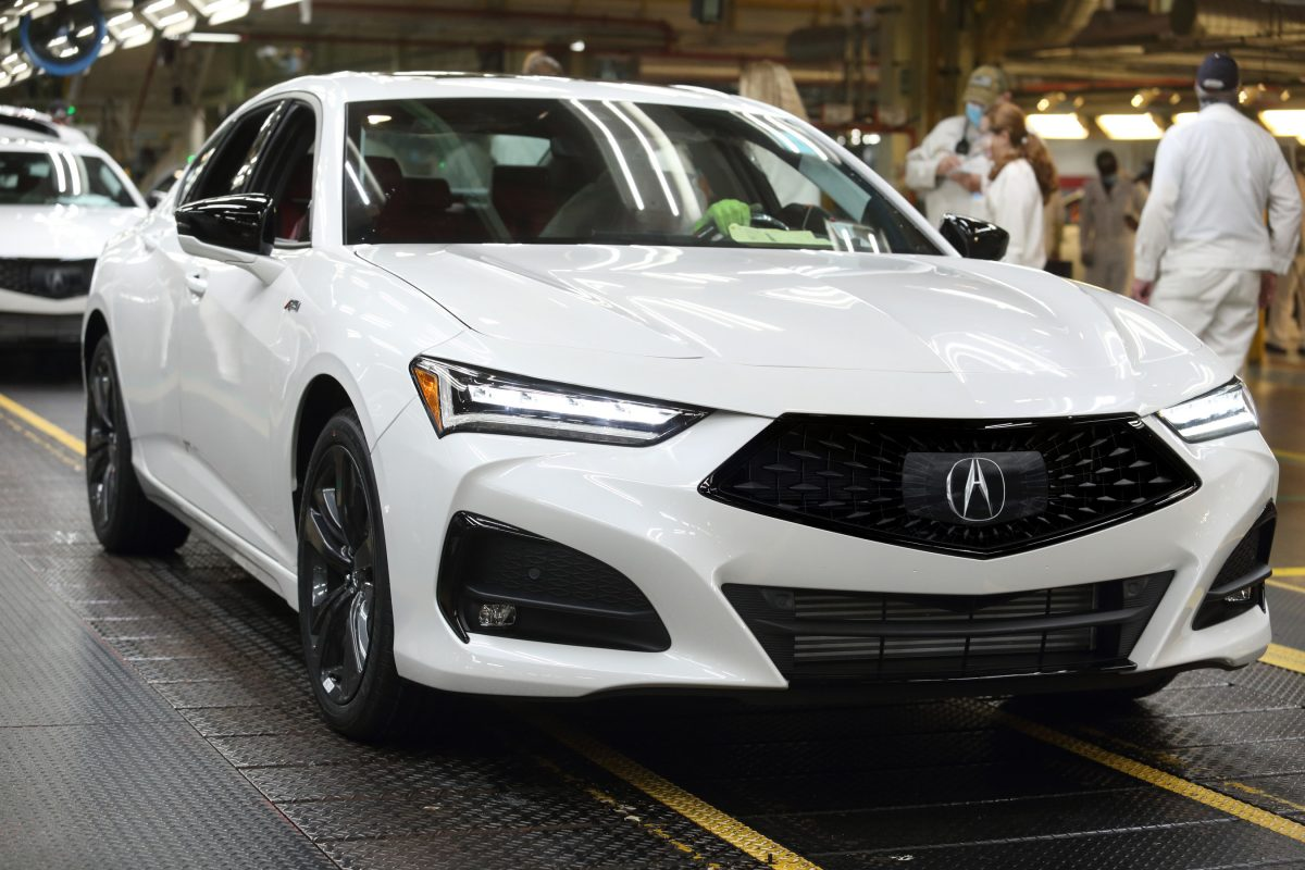Production of All-New Acura TLX Sport Sedan Begins in Ohio