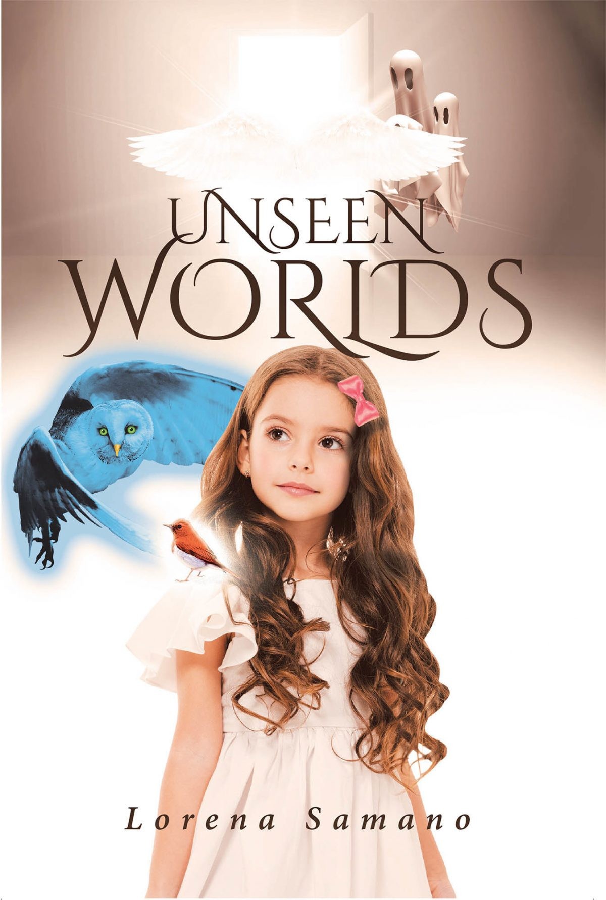 La más reciente obra publicada de la autora Lorena Samano, Unseen Worlds, un relato que nos muestra un mundo mágico y sobrenatural a través de los ojos de la pequeña Scarlett y su esperanza en busca de la felicidad.