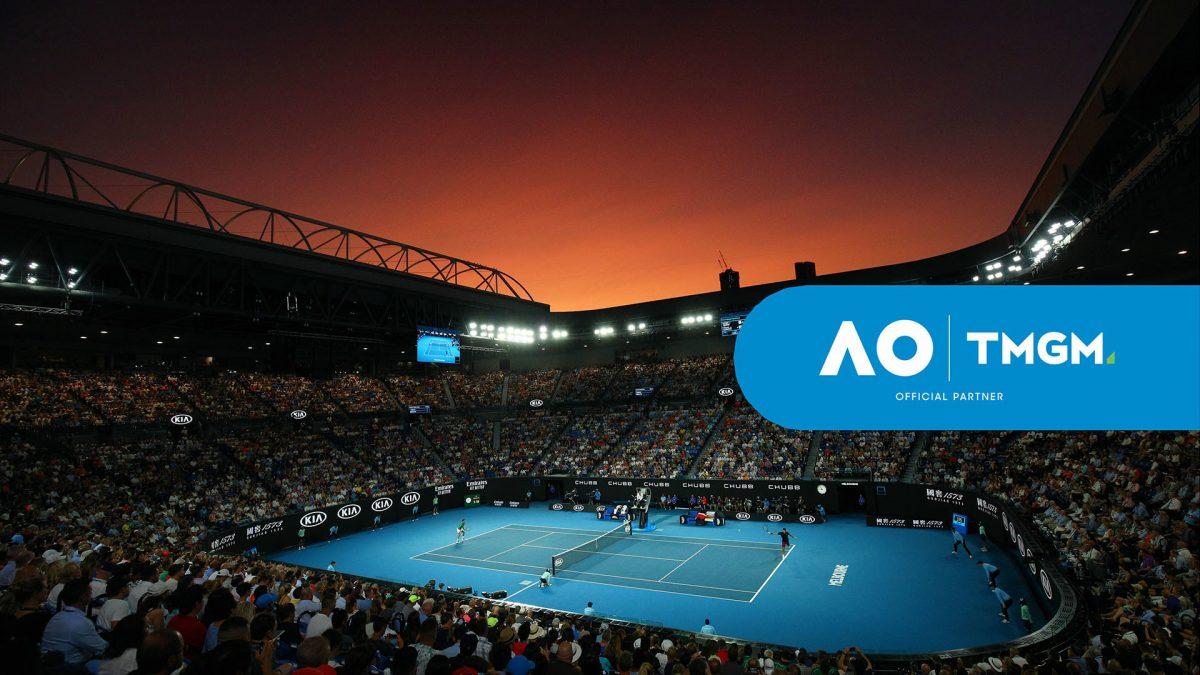 TMGM entra en el mundo deportivo, con el patrocinio del Abierto de Australia