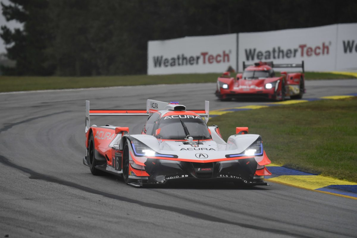 Dos primeras posiciones en la parrilla de salida para Acura en Road Atlanta