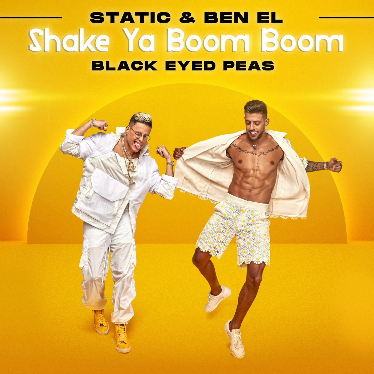 Saban Music Group's Global Pop Duo Static & Ben El Release New Single «Shake Ya Boom Boom» In Collaboration With Black Eyed Peas