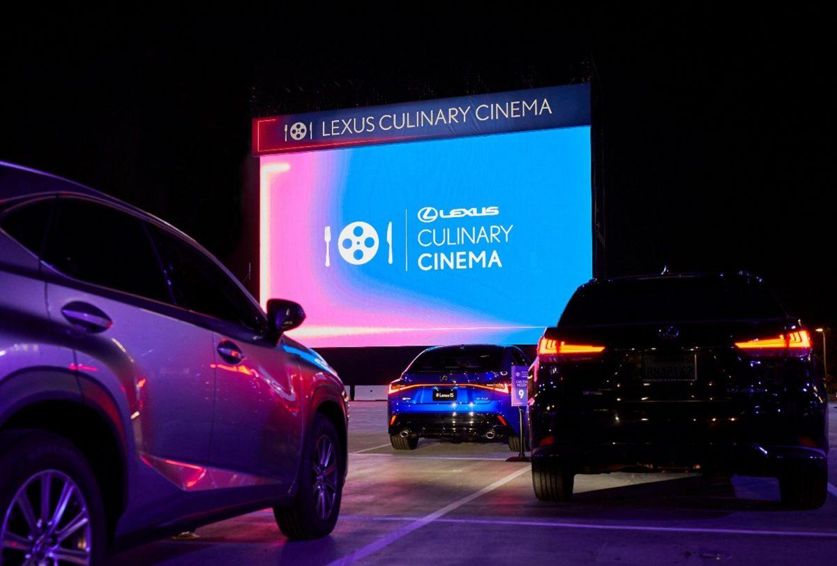 Lexus Culinary Cinema eleva el nivel del autocine con una experiencia gastronómica