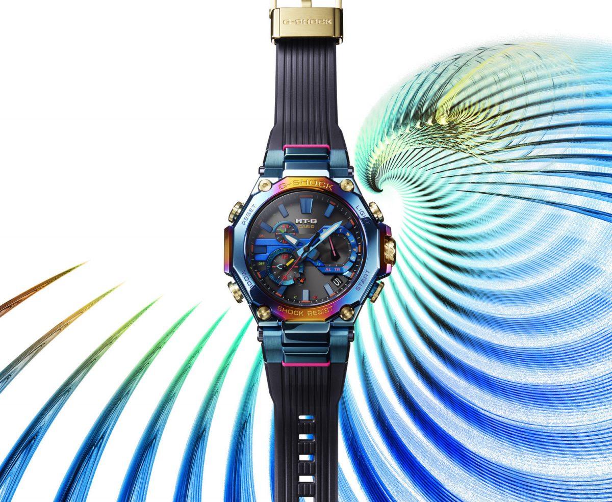 Casio lanza un nuevo MT-G inspirado en la belleza del fénix azul