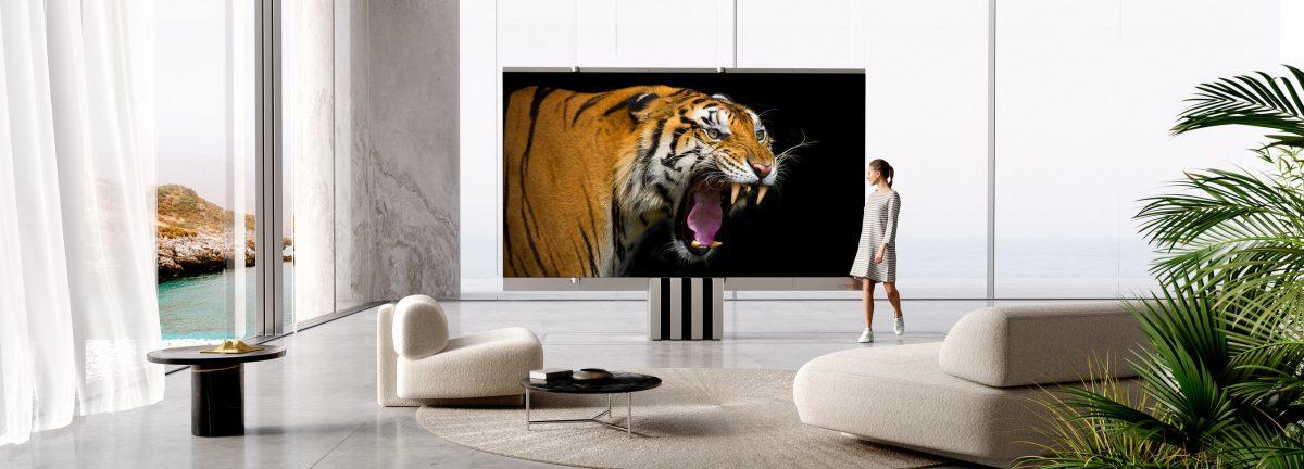 El primer televisor Micro LED de 165 pulgadas plegable del mundo – C SEED redefine el lujo y el estilo tras lanzar el M1
