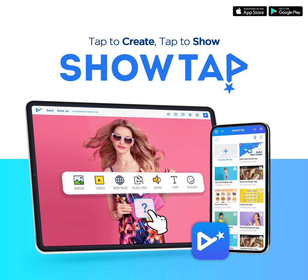 Lanzamiento de la aplicación «Showtap»