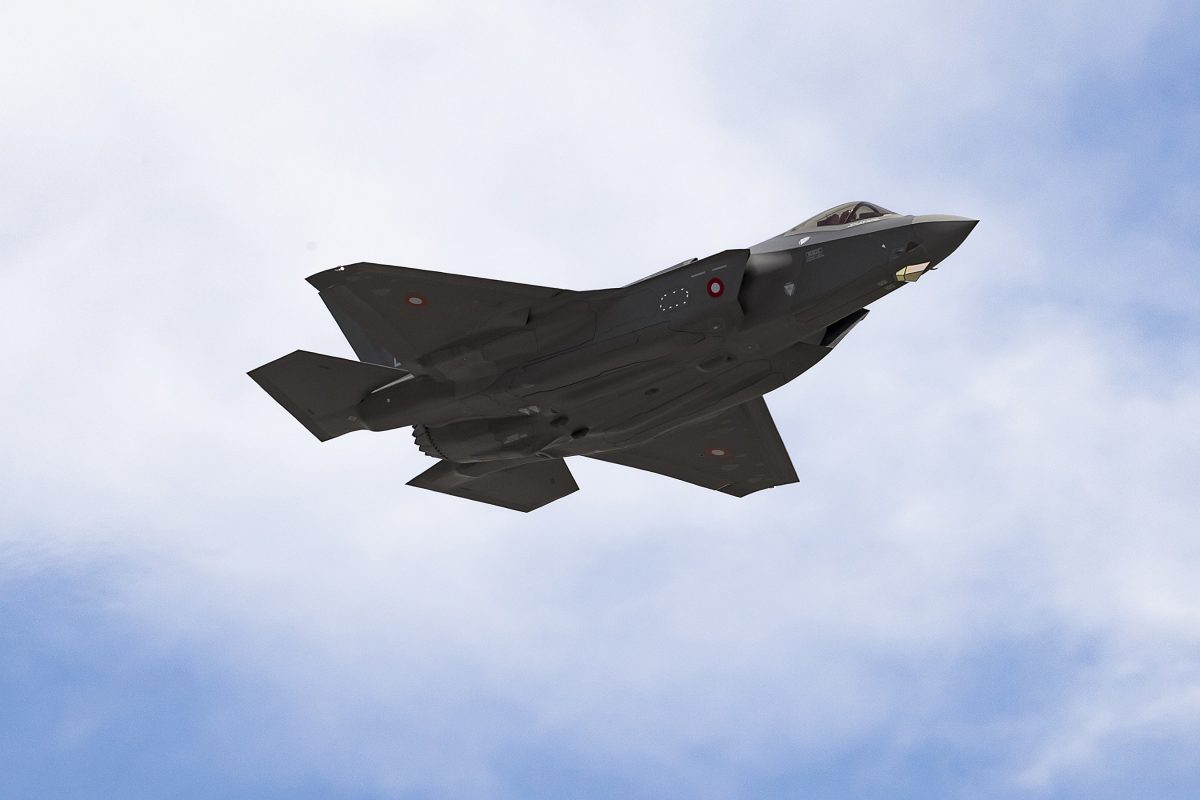 NATO F-35 Milestone: First F-35A for Denmark Takes Flight