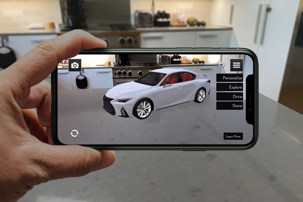Lexus presenta aplicación «Lexus AR Play» para lanzar el nuevo IS 2021